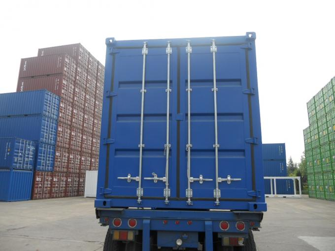 Hydraulic Lifting Wing Body Container Cargo Transportion High Strength Steel
