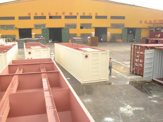 Open Top Sewage Container 40ft High Cube General Purposes Easy Operation