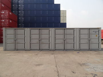 China Grey Ocean Shipping Containers Length 12192MM Corner Casting High Efficiency supplier