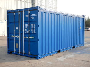 China Optional Size Open Top Shipping Container 20 Foot Standard General Purposes supplier