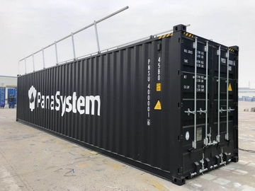China 40 Foot Bulk Shipping Containers High Cube Bulk With 3mm Steel Floor Industrial supplier