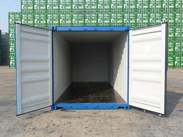 "China 20' X 8' X 8'6"" Cargo Shipping Container Steel Dry 1 Pair Of Forklift Pocket supplier"