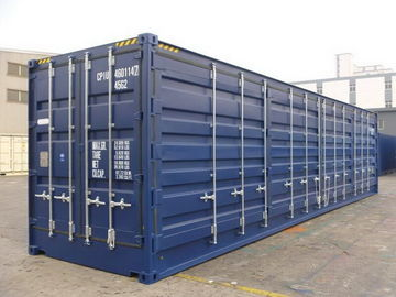 China Fully Openning High Shipping Container High Strength Height 2896MM Easy Operation supplier