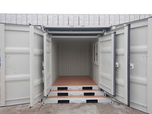 China 7ft Empty Shipping Container , Small Shipping Containers Easy Operation supplier