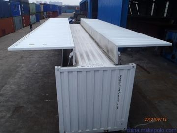 China Hydraulic Lifting Wing Body Container Cargo Transportion High Strength Steel supplier