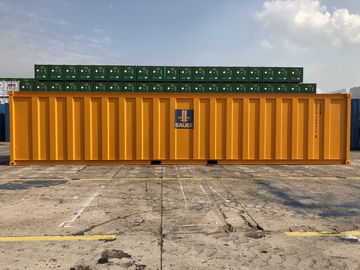 China Waste Water Treatment Container , 40ft High Cube CSC Approved Open Top Container supplier