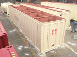 China Open Top Sewage Container 40ft High Cube General Purposes Easy Operation supplier