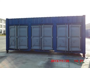 China Industrial Shipping Container With Side Doors , 20ft Open Side Container Waterproof supplier