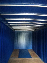 China ISO Front Opening Storage Containers Easy Loading 40feet GP Transportation supplier