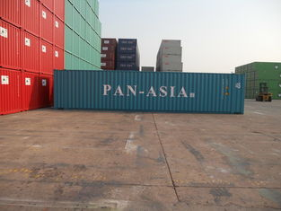China High Strength Shipping Container Overseas , 45ft Standard Metal Shipping Containers supplier