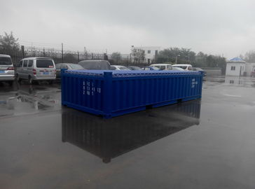 China Customized Standard Half Height Container 20ft Open Top Width 2438MM factory