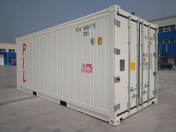 China Easy Operation Reefer Storage Containers Width 2438MM Corner Casting Waterproof factory
