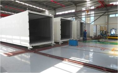 China White Refrigerated Shipping Container Height 2896MM High Efficiency Durable factory
