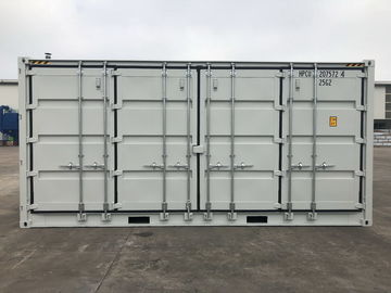 China 20ft High Cube Side Opening Shipping Container With Cargo Doors Industrial distributor