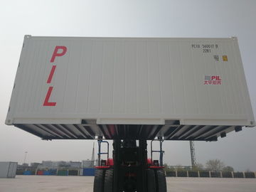 China 20ft Refrigerated Shipping Container Length 6058MM Easy Operation Industrial distributor