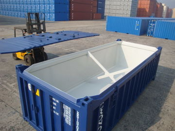 China Steel Half Height Container Mineral Bulk For Stone Transportion Open Top factory