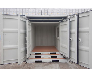 China 7ft Empty Shipping Container , Small Shipping Containers Easy Operation distributor