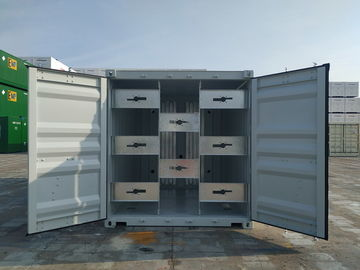 China 10 Foot Standard Equipment Shipping Containers ABS Class Customizable Size factory