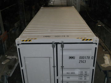 China High Cube 20 Feet Shipping Container , Dry Container With Side Opening distributor