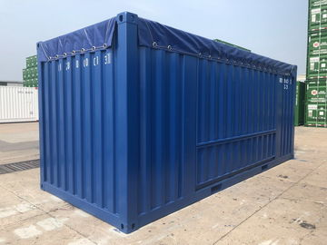 China Transportation 20ft Side Door Container , Side Access Shipping Container Industrial distributor