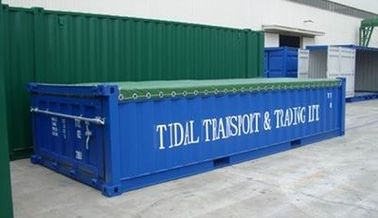 China Mineral Bulk Half Height ISO Container Cargo Transportion Steel Opentop distributor