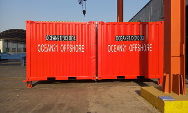China High Strength Certified Shipping Containers 10ft Easy Operation Height 2591MM factory