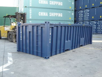 China 20ft Half Height Container Open Top Shipping ISO Easy Operation Industrial distributor