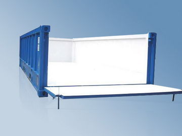 China Open Top High Cube Shipping Container , 20 Feet Container Easy Loading Lifting distributor