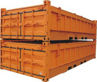 China Length 6058MM Half Height Container 20ft Open Top Shipping Industrial distributor