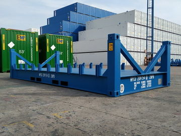 China High Strength Sea Container Platform 20 Foot Frame Easy Operation Industrial distributor