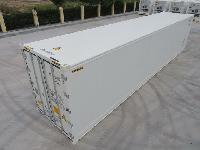 White Refrigerated Shipping Container With Carrier Machinery 5ft/10ft/20ft/40ft