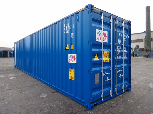 "20' X 8' X 8'6"" Cargo Shipping Container Steel Dry 1 Pair Of Forklift Pocket"